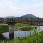 三重とこわか国体に向けて架け替えが計画されている御側橋(五十鈴川)