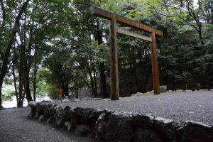 饗土橋姫神社付近から大水神社(皇大神宮 摂社)へ
