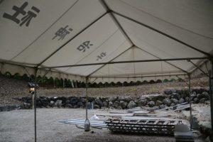 本殿の御造営が開始された宇治神社(伊勢市宇治今在家町)
