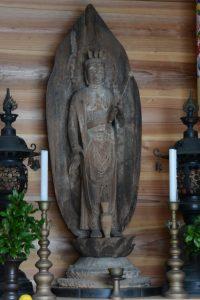 正法寺(度会町注連指)の十一面観世音菩薩立像