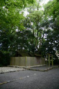 草奈伎神社の仮殿となっている大間国生神社(豊受大神宮 摂社)
