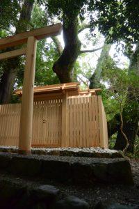 9月15日に御遷座を終えた大水神社(皇大神宮 摂社)