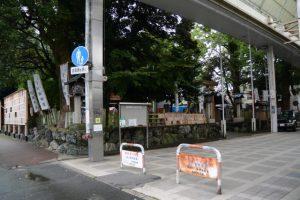 伊勢高柳商店街入口(今社付近)