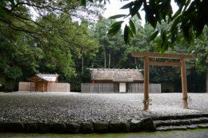 神服織機殿神社(皇大神宮 所管社)と八尋殿