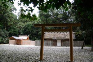 神麻続機殿神社(皇大神宮 所管社)と八尋殿