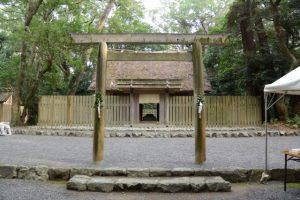 御塩殿祭の朝(御塩殿神社)