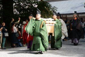 神嘗祭 奉幣の儀(外宮)