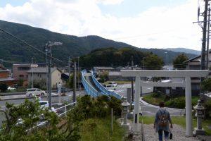 上田神社(伊勢市中村町)から望む興玉の森