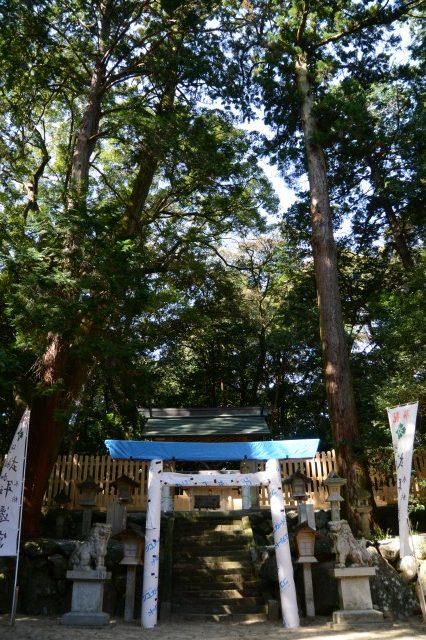 11月3日に御遷座を迎える阿射加神社(松阪市小阿坂町)