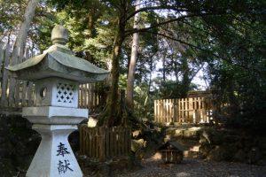 阿射加神社の境内社(松阪市大阿坂町)