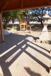 12月に御神遷を迎える牟山中臣神社(伊勢市田尻町)