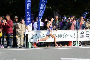 明治大 籔下 響大(第48回全日本大学駅伝)
