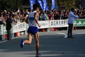 日本体育大 小野木 俊(第48回全日本大学駅伝)