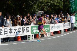 東海学連選抜 田中 雄也(第48回全日本大学駅伝)