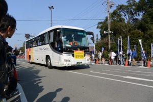 「選手収容6」車(第48回全日本大学駅伝)