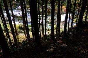 伊勢南街道(杉谷登山口付近)の風景