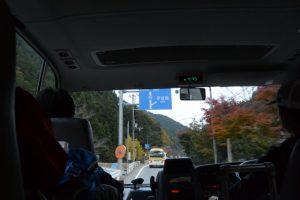 松阪市飯高B&G海洋センターへの帰路