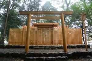 雨の志等美神社・大河内神社(豐受大神宮 摂社)