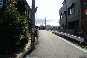 勢田川に架かる北新橋方向