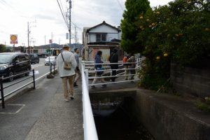 八間道路から⑧船江上社へ