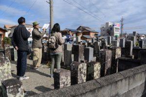 小川家の墓所(⑨船江の墓地)