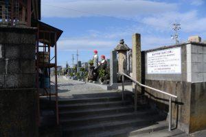 ⑨船江の墓地