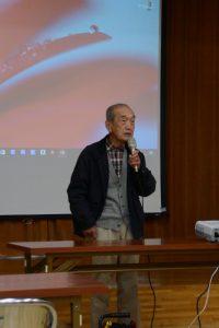 橋本丈男さん(わたらい町ちいき資源を守る会 会長)
