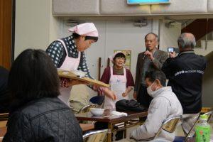 郷土料理(うけ茶他)の試食