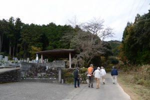 立岡墓地(度会町立岡)