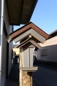 神宮両宮の神札を納める札場、宇須乃野神社(豊受大神宮 摂社)前