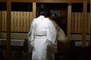 遷座祭、牟山中臣神社(伊勢市田尻町)