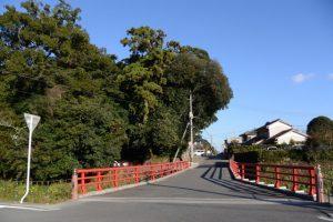 産田川に架かる産田橋(熊野市有馬町)