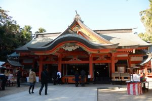 本殿(青島神社)