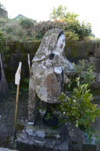 川東中園の田の神(東串良町)