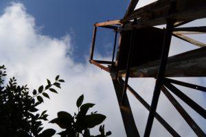 権現山々頂の展望台