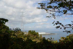 林道赤迫柳井谷線の眺望
