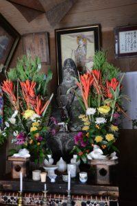 観音堂の十一面観音像(鹿児島県肝属郡肝付町