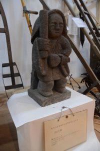 田の神(肝付町立歴史民俗資料館)
