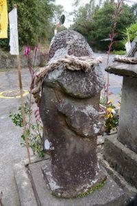 安留の田の神(東串良町)