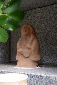 溜水の田の神(東串良町)