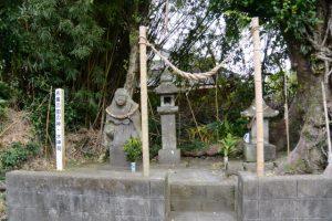 永峯の田の神(東串良町)