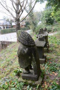 岩弘中の田の神(東串良町)