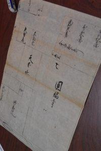 古絵図(現在の廣峰神社旧跡付近)