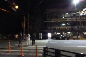 (4)津長神社へ(宇治青年団による寒参り)