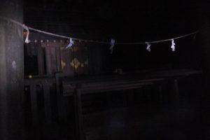 合格神社(宇治青年団による寒参り)
