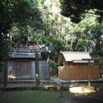 仮殿が建てられていた蚊野神社(皇大神宮 摂社)