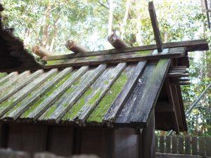 そろそろ役割を終える殿舎、小俣神社(豊受大神宮 摂社)