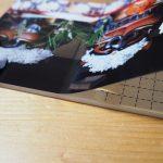 貼りパネルに写真を貼る練習