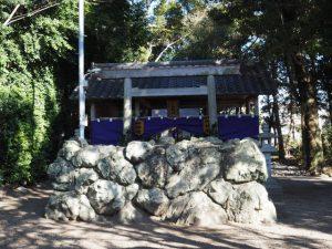 官舎神社神宝神事の日、八柱神社(伊勢市小俣町元町)