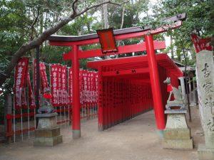 吉家(稲荷)神社(伊勢市河崎)